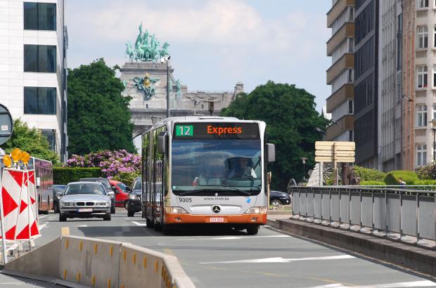 Stib simplifies airport bus line 12