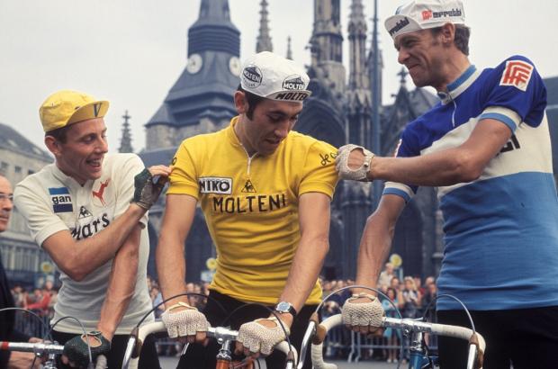 Eddy Merckx to address school pupils at European parliament Tour de France event