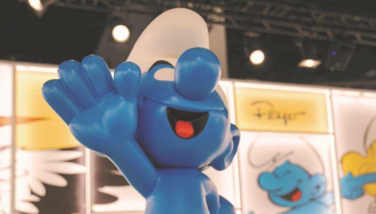 True blue: Smurfs are everywhere as they celebrate 60th birthday