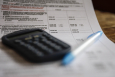 A Belgian tax return document. Many single people in Belgium face higher taxes. (BELGA)