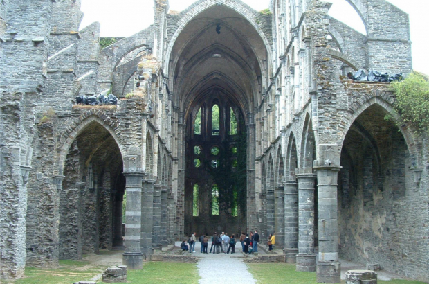 Villers Abbey (c) G Debognies/Wikipedia