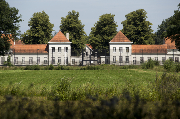 Illustration shows the prison at the Wortel colony site, Belgium. (BELGA PHOTO KRISTOF VAN ACCOM)
