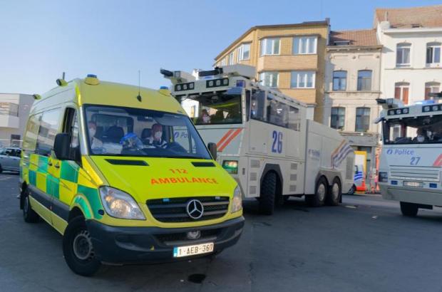 Police arrests after riots in Anderlecht