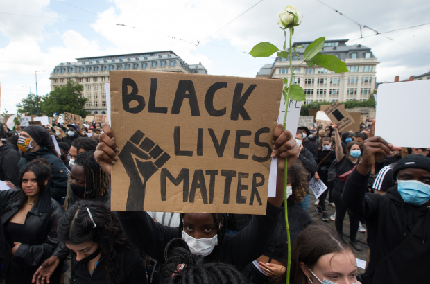 Black Lives Matter protest (c) Dirk Waem/Belga