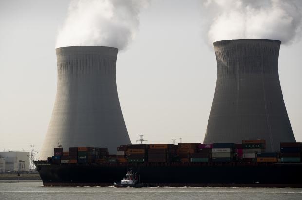 Illustration picture shows the nuclear power plant of Doel, in the Scheldt estuary, near the port of Antwerp, Friday 18 September 2020. (BELGA PHOTO KRISTOF VAN ACCOM)