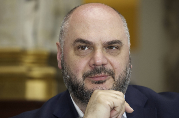 Mayor of Ixelles, Christos Doulkeridis (BELGA PHOTO NICOLAS MAETERLINCK)