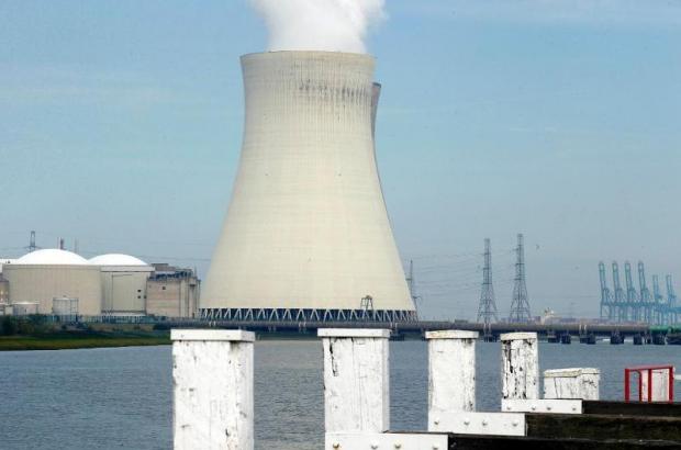 Doel nuclear power station-belga