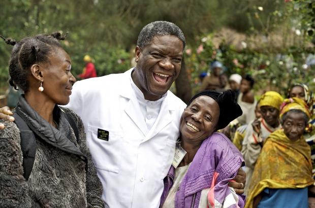 Dr Denis Mukwege-Nobel peace prize winner