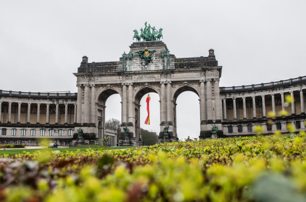 Illustration picture shows the Jubelpark - Parc du Cinquantenaire after a renovation in Brussels, Thursday 05 March 2020. (BELGA PHOTO LOAN SILVESTRE)