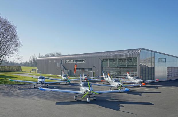 Sonaca Aircraft - Temploux Aerodrome, Namur