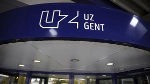 The University Hospital UZ Gent in Gent. (BELGA PHOTO NICOLAS MAETERLINCK)