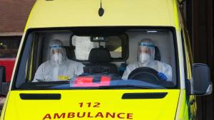 Brussels fire brigade intervention coronavirus