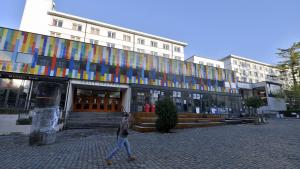 BRUSSELS, BELGIUM: Illustration shows the campus of ULB (Brussels free university) (BELGA PHOTO ERIC LALMAND)