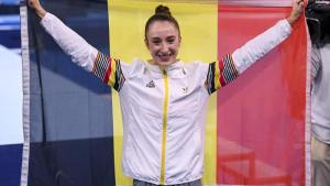 Nina Derwael takes Belgium's first Olympic gold in Tokyo games