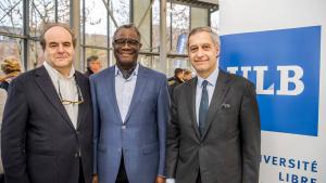 Dr Denis Mukwege honoured at ULB Erasme campus Brussels