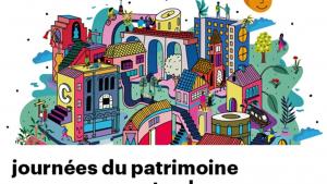 The brochure design for the Journées du Patrimoine/Open Monumentendagen in Brussels, 2020. (©urban.brussels)