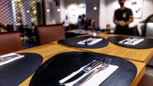 Illustration picture shows a restaurant bar in Brussels, Belgium (BELGA PHOTO HATIM KAGHAT)