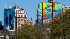 No Borders - Street Art Brussels