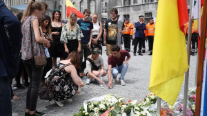Friends mourn victim of Liège shooting