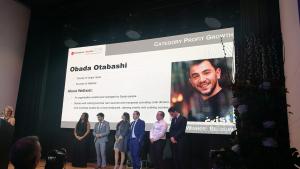 Winner Obada Otabashi We Exist MoneyGram Awards