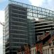The Charlemagne building in the European quarter of Schuman in Brussels  (BELGA PHOTO HERWIG VERGULT)