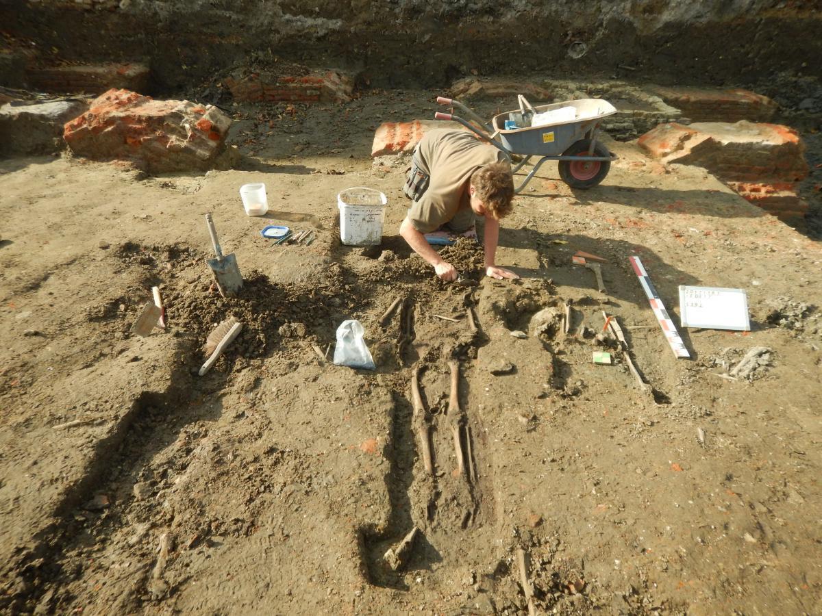 Skeletons hold the key to Ypres' medieval population